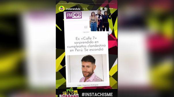 Pancho Rodriguez en portada de medios chilenos