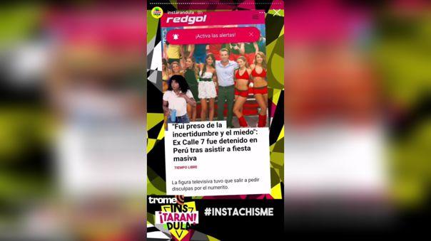 Pancho Rodriguez aparece en medios chilenos tras su detención en fiesta de Yahaira Plasencia