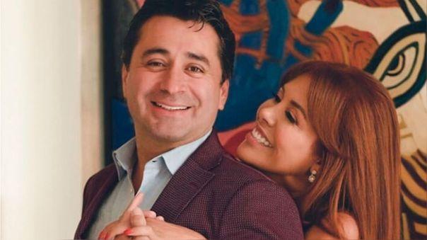 Magaly Medina se amistó con su esposo Alfredo Zambrano