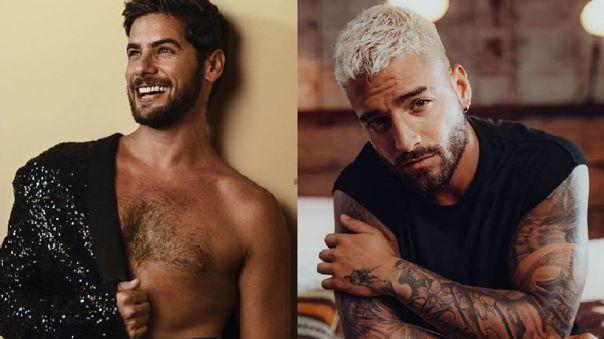 """Andrés Wiese le gana en votos a Maluma en el concurso """"El rostro más bello 2021"""" [FOTOS]"""