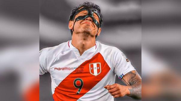 Gianluca Lapadula se sumó al entrenamiento previo al partido Perú vs. Colombia