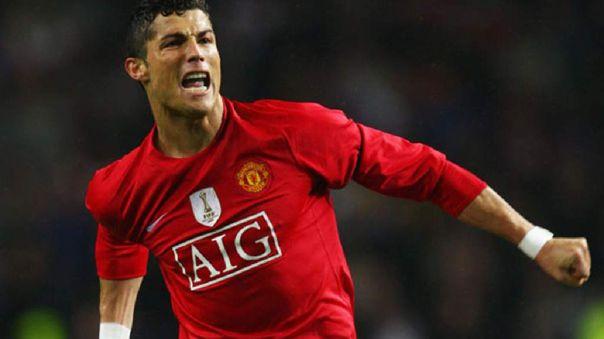 Cristiano Ronaldo volvió al Manchester United