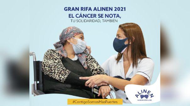 ALINEN: Únete a la Rifa Solidaria para apoyar a los pacientes con cáncer