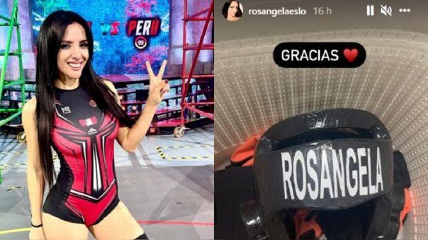 Rosángela Espinoza eliminada de Esto es Guerra