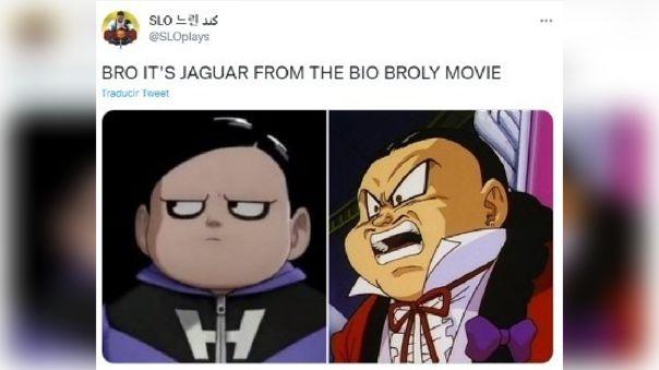 Usuario en Twitter cree que el nuevo villano es Jaguar de la película de Bio Broly