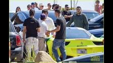Adam Levine y Behati Prinsloo en accidente