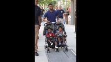 Usher. El intérprete de I don't mind es padre de Usher Raymond V y Naviyd Ely Raymond, de quienes tiene la custodia total.