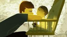 Ilustraciones que retratan el vínculo entre padres e hijos