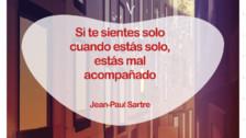 Frases del célebre filósofo francés, Jean-Paul Sartre.