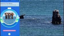 BARCO HUNDIDO  En Australia puedes ubicar un mercante griego SS Alkimos hundido en la costa norte de Perth desde 1963. Es una zona muy popular para el buceo, pero es casi imposible llegar ahí con tu celular. Ningún equipo lo ha reclamado aún, demostrando lo inaccesible que es.
