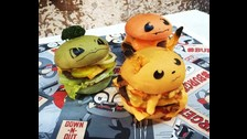 hamburguesas inspiradas en Pokémon