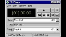 1. Esto es lo que veías cuando escuchabas música desde un CD.