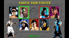 MORTAL KOMBAT. Los juegos de lucha tenían un lugar especial. Con una imagen mucho mejor y con violencia más realista, el juego se volvió uno de los favoritos.
