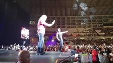 MANÁ. La banda mexicana volvió al Perú tras 13 años y se presentó el 20 de abril en el Estadio Nacional.