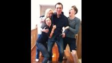 La familia de Shirlie Holliman, ex compañera de George Michael en Wham!
