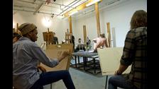 Iggy Pop fue modelo de desnudo en una clase de arte