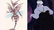Úrsula de La Sirenita tenía que lucir más como un pez león. Era complicado, porque es una especie difícil de replicar y porque era necesario hacer que no sea tan aterradora para un público familiar. Entonces decidieron darle cuerpo de pulpo. Para los detalles se inspiraron en una drag queen llamada 'Divine'.