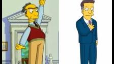 Russ Cargill es el villano en la película de Los Simpson. No iba a lucir así al inicio, Lo habían pensado más como un hombre aun mayor y con aspecto más científico, con chompas tejidas. Terminó siendo un burócrata enternado.
