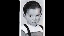 Este es Dave Gahan de bebé.