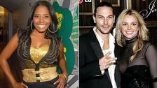 Shar Jackson y Kevin Federline. Ella estaba comprometida con Kevin, pero él la dejo para casarse con Britney Spears. Tuvieron dos hijos juntos y él se separó de ella cuando estaba esperando a su segundo bebé para empezar una relación con la cantante