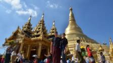 Pareja cambia fiesta de bodas por un viaje alrededor del mundo por 5 meses