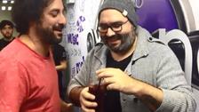 El Loco Wagner y Pancho Hermoza probaron el trago oficial de aniversario