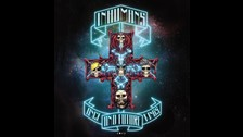 Inhumans en homenaje a Appetite for Destruction de Guns N Roses.