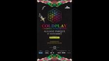 Coldplay estará el 7 de noviembre en Sao Paulo.