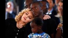 Madonna es madre adoptiva de cuatro niños africanos.