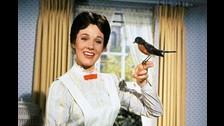Julie Andrews interpretaba a Mary Poppins.