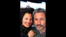 Hace un año la actriz también publicó una foto junto al señor Sheffield.