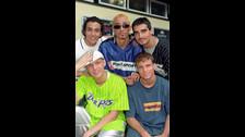 Backstreet Boys en agosto de 1997.