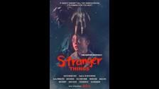 Este es el afiche de Stranger Things.