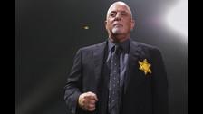 Billy Joel se presentó con una estrella de David.