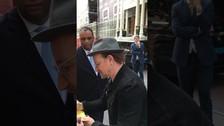 Hace unos días los integrantes de U2 grabaron un video en Amsterdam.