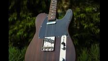 Esta es la guitarra de Fender dedicada a George Harrison