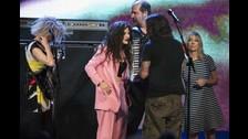 En 2014 los ex Nirvana se robaron el show en la gala de ingreso al Rock And Roll Hall Of Fame.