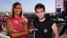 Ambos muchachos estuvieron en Viña del Mar este año.