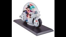 La moto en la que Bulma se movilizaba en los primeros episodios de Dragon Ball ya existe.