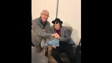 Así fue la reunión entre Charly García y The Who