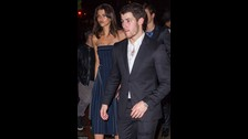 Nick Jonas y Georgia Fowler.