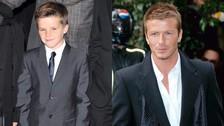 Cruz y David Beckham
