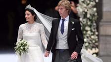 Alessandra de Osma: El hermoso vestido diseñado exclusivamente para su boda