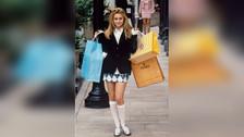 Cher Horowitz de Clueless (1995): La adolescente más fashionista. Sus vestidos coloridos y accesorios fueron un éxito.