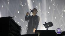 Minutos antes de las 9, Radiohead ya estaba en el escenario