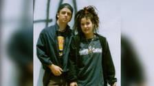 Billie Joe Armstrong y Adrianne Nesser