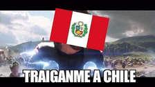 Te mostramos los memes más divertidos del partido Perú vs. Chile.