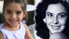 Mira el parecido entre la hija de Eugenio Derbez y la mamá del actor