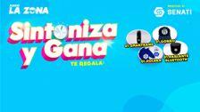 Radio La Zona premia tu preferencia en el Sintoniza y Gana gracias a Senati