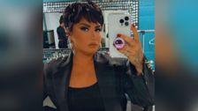 Demi Lovato dice que debemos dejar de llamar a los extraterrestres